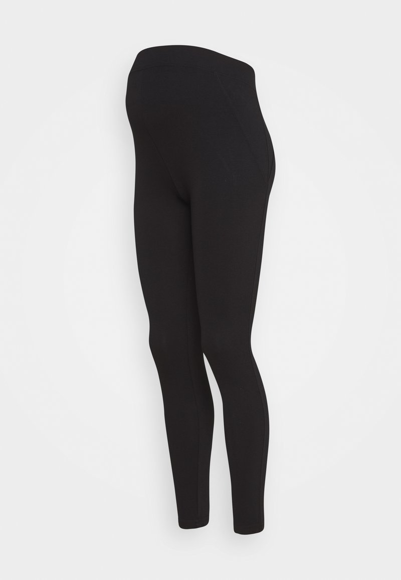 New Look Maternity - PONTE LEGGING - Leggings - Trousers - black