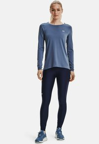 Under Armour - UA ARMOUR LONG SLEEVE - Long sleeved top - mineral blue - 1
