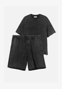 Bershka - SET - Shorts - black - 4