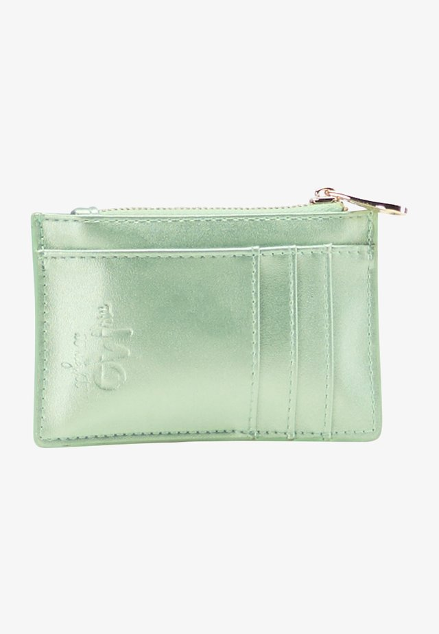 Portefeuille - grün metallic