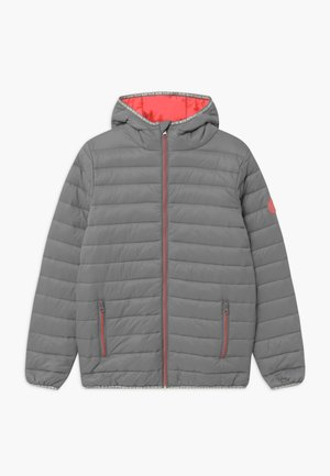 TEENS BIG - Winter jacket - silver grey/peach