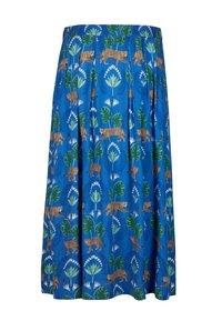 Oliver Bonas - A-line skirt - blue - 3