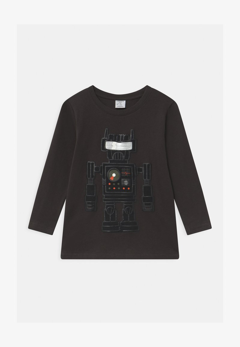Lindex - MINI STREET GAMING - Long sleeved top - anthrazit