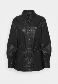 Part Two - HURI - Leather jacket - black - 5