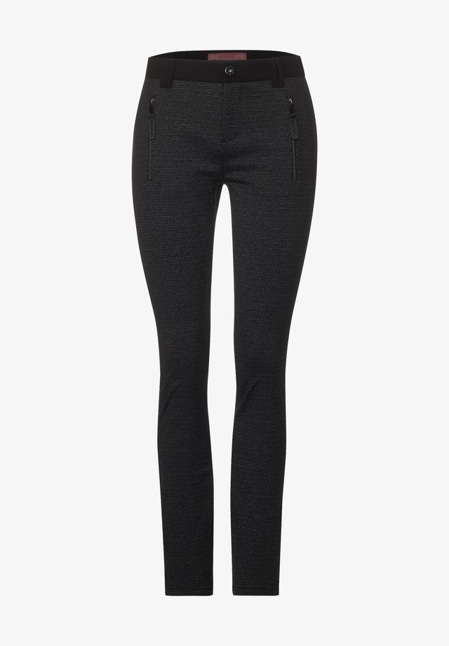 MIT MINIMAL MUSTER - Leggings - Trousers - grau