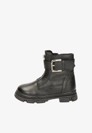 NELSON  - Korte laarzen - zwart