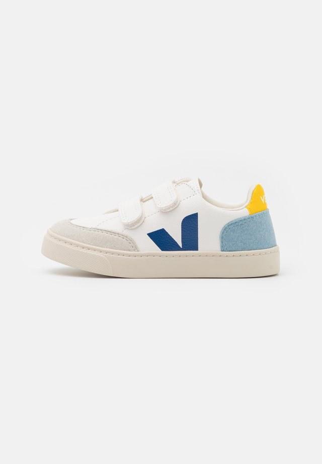 SMALL V-12 UNISEX - Sneakers laag - extra white/multicolor/steel