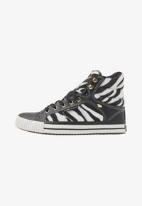 British Knights - ATOLL - High-top trainers - zebra/black - 1