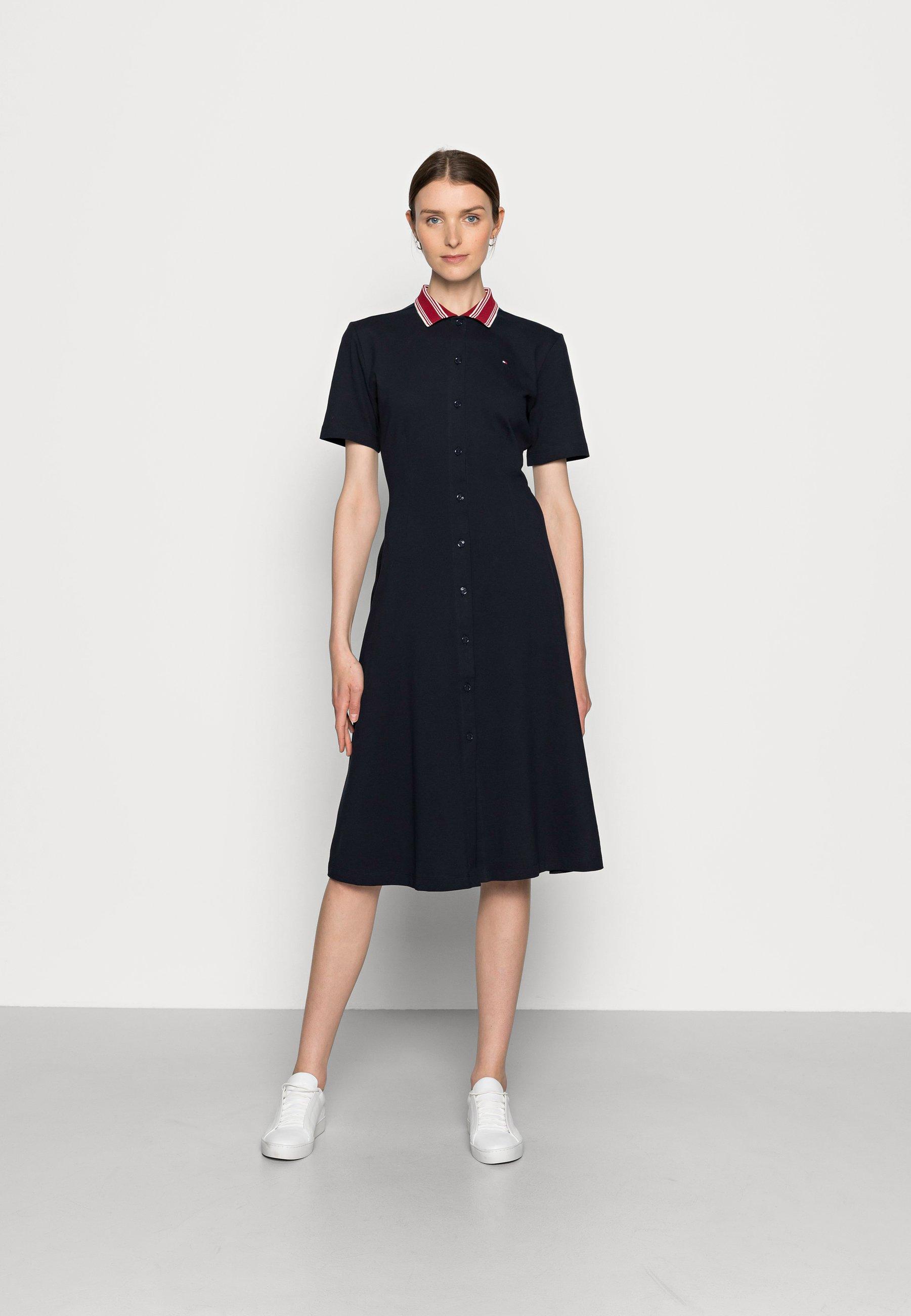 Mujer MIDI DRESS - Vestido camisero