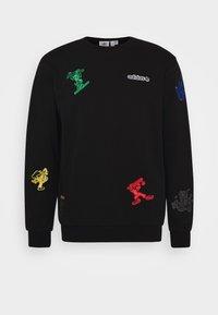 adidas Originals - GOOFY CREW - Sweatshirt - black - 4