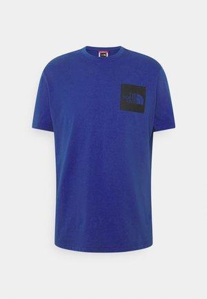 FINE TEE - T-shirt z nadrukiem - tnf blue