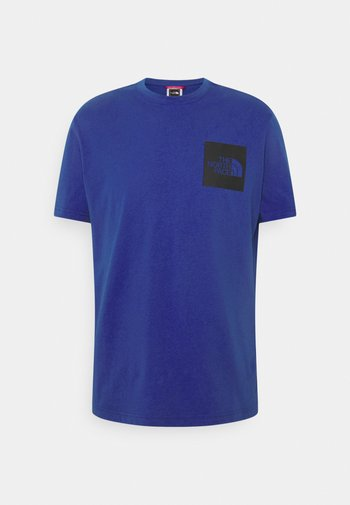 FINE TEE - T-shirt con stampa - blue