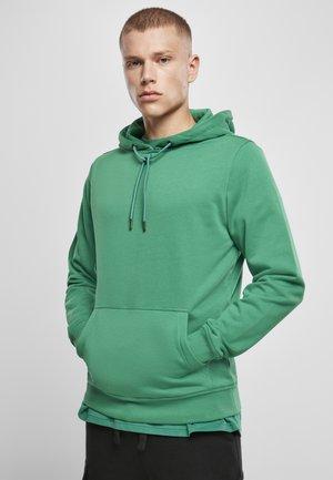 BASIC TERRY  - Hoodie - junglegreen