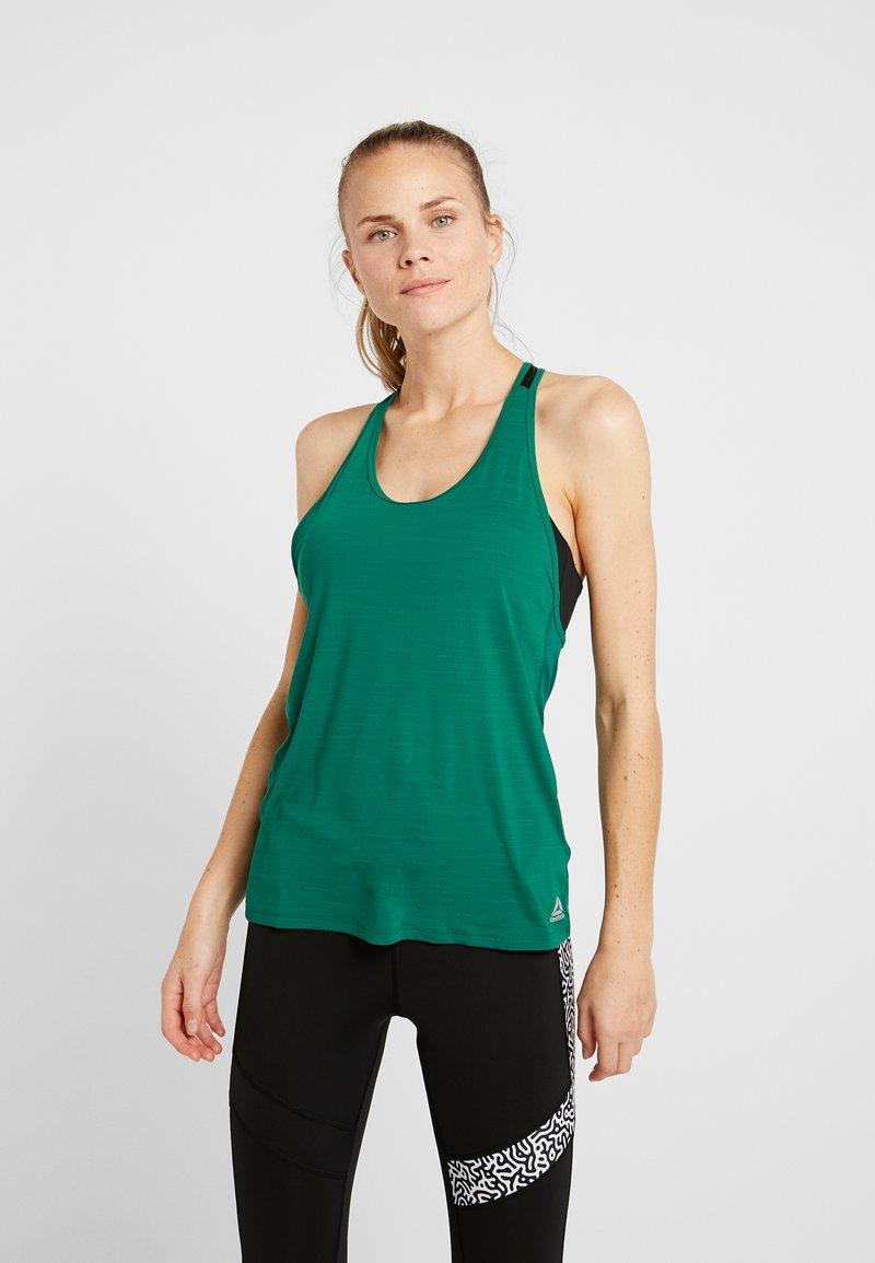 Reebok - TANK - Sports shirt - clover green