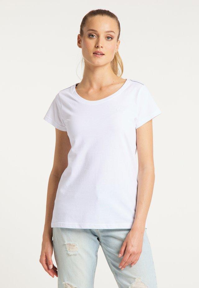 T-SHIRT - Jednoduché triko - white