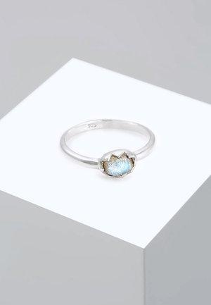 RING VINTAGE LABRADORIT EDELSTEIN  - Bague - silver-coloured