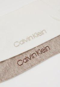 Calvin Klein Underwear - CREW  2 PACK  - Chaussettes - ecru - 2