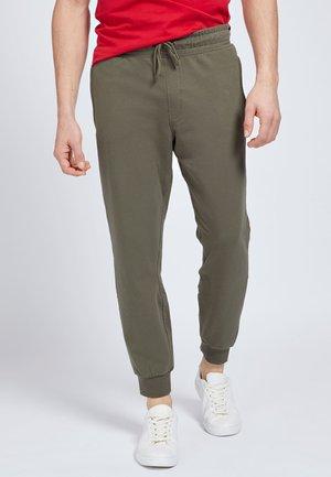 Tracksuit bottoms - grün