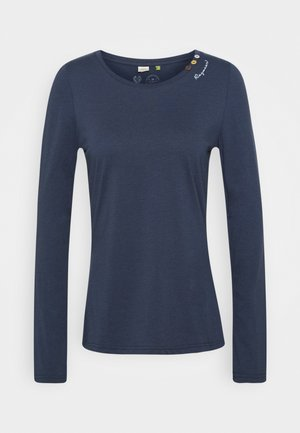 FLORAH LONG - Long sleeved top - navy