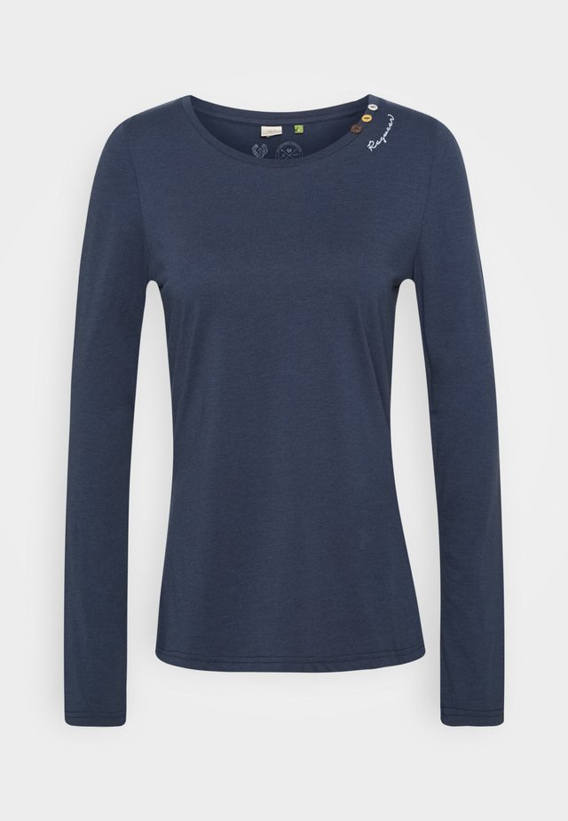 FLORAH LONG - T-shirt à manches longues - navy
