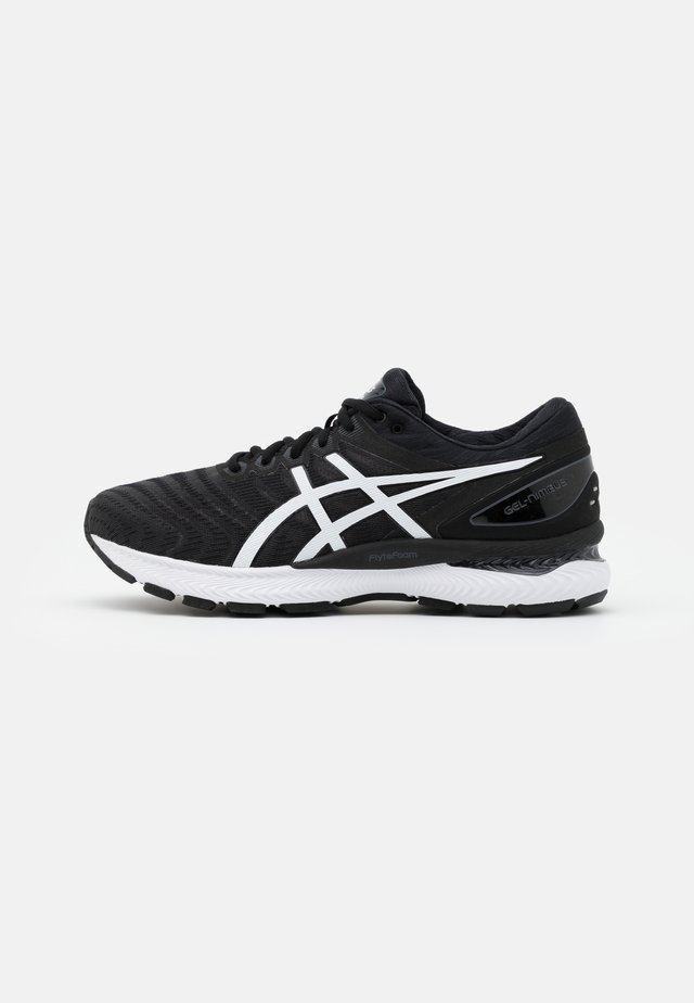 GEL NIMBUS 22 - Zapatillas de running neutras - black/white