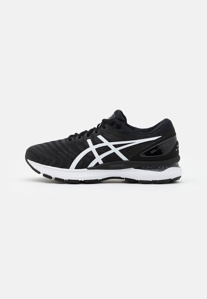ASICS - GEL NIMBUS 22 - Neutral running shoes - black/white