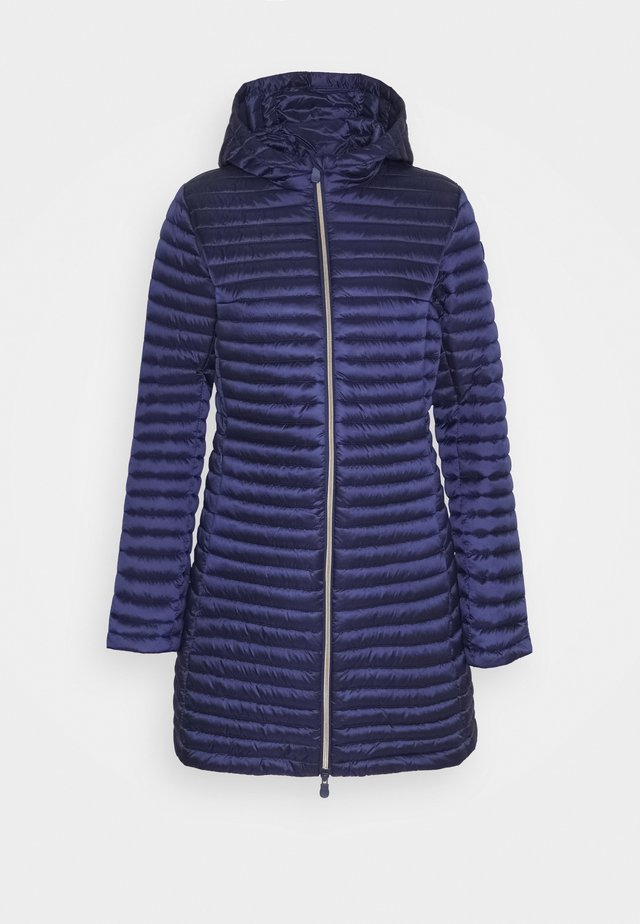 IRIS ALBERTA LONG HOODED COAT - Classic coat - navy blue