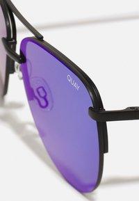QUAY AUSTRALIA - THE PLAYA - Sunglasses - black/cobalt - 4