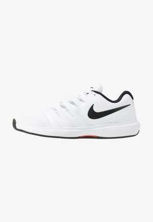 AIR ZOOM PRESTIGE CPT - Carpet court tennis shoes - white/black/bright crimson