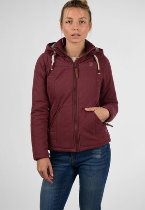Light jacket - wine red