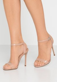New Look - High Heel Sandalette - oatmeal - 0