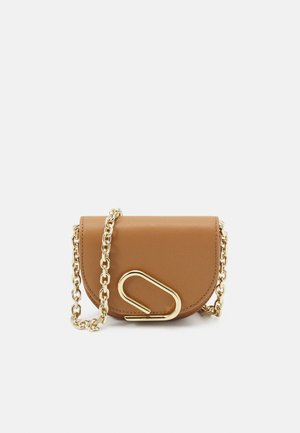 ALIX MINI CARDCASE ON CHAIN - Wallet - camel
