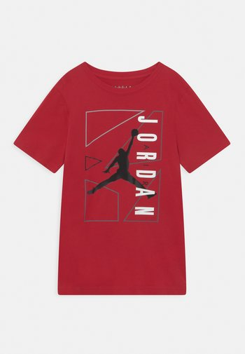 AIR GRAPHIC - T-shirt med print - gym red