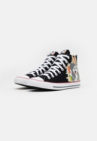 Converse - CHUCK TAYLOR ALL STAR BUGS BUNNY - High-top trainers - black/multicolor - 1