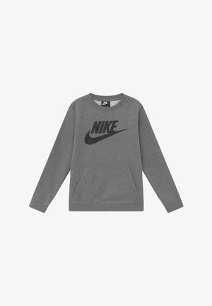 CLUB CREW - Sweatshirt - carbon heather/black