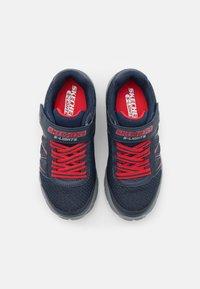 Skechers - DYNAMIC FLASH - Sneaker low - navy/red - 3