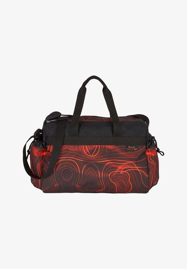 Sports bag - dark red