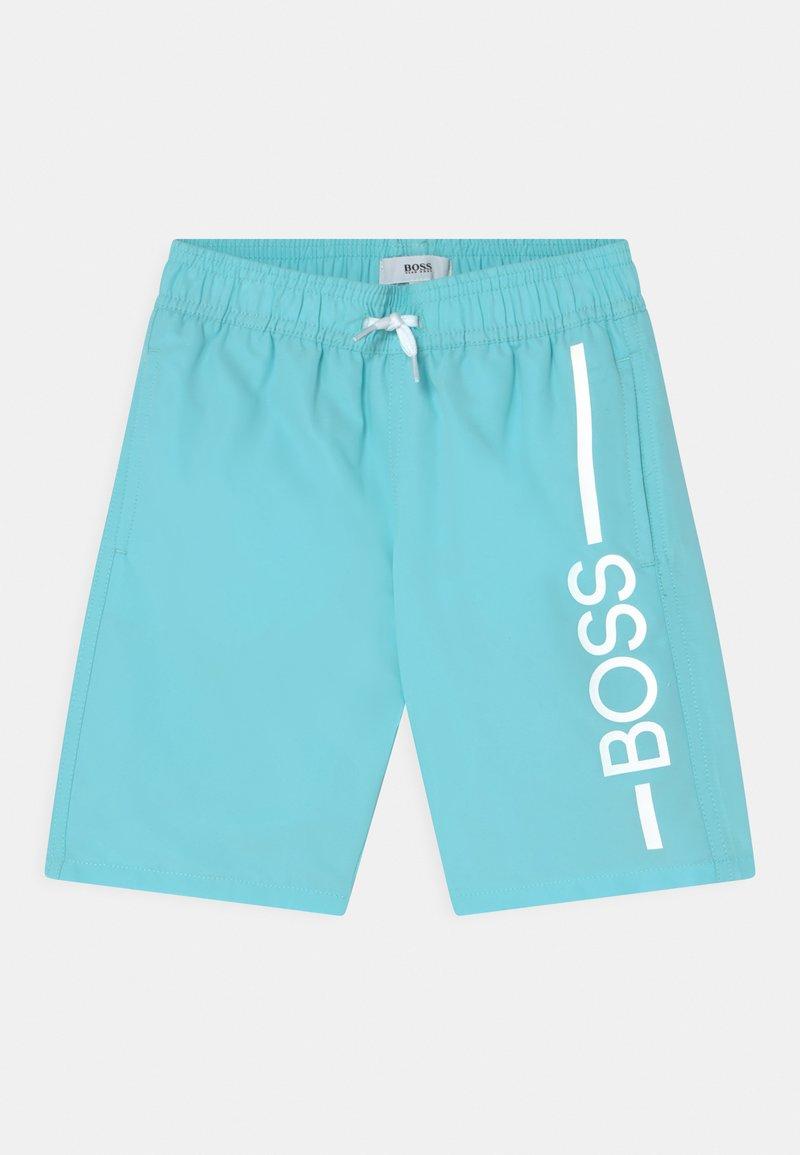 BOSS Kidswear - SWIM  - Swimming shorts - sea-green