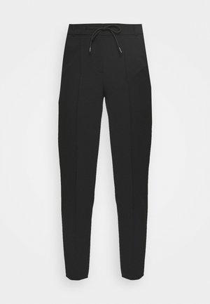 DESK TO DINNER - Trousers - black