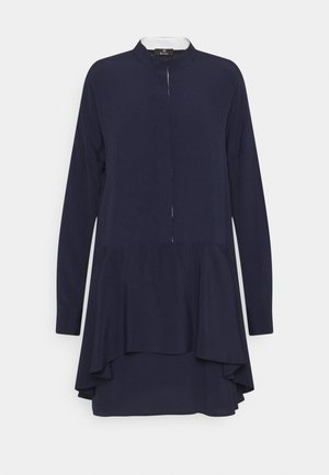 WOMENS DRESS - Košilové šaty - navy