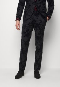 Twisted Tailor - MARSHALL SUIT - Suit - charcoal - 4