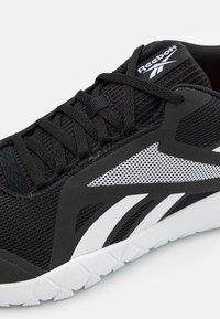 Reebok - FLEXAGON FORCE 3.0 - Sports shoes - core black/footwear white - 5