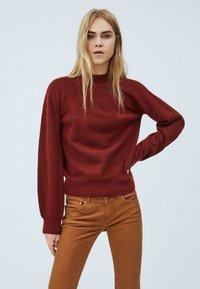 Pepe Jeans - CLOTILDA - Svetr - tibetan red - 0