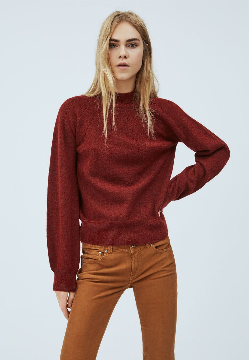 Pepe Jeans - CLOTILDA - Svetr - tibetan red