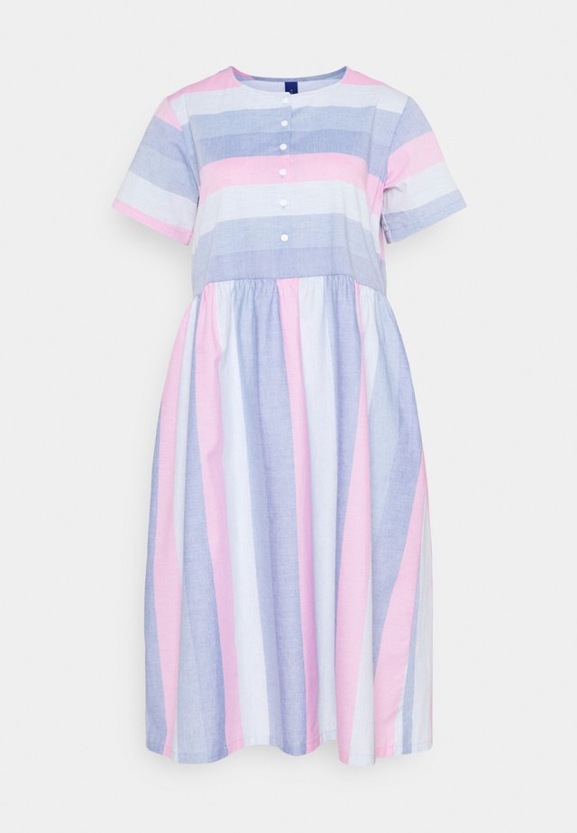 DELPHINE DRESS - Shirt dress - pink