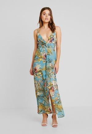 PALM DRESS - Maxi-jurk - blue
