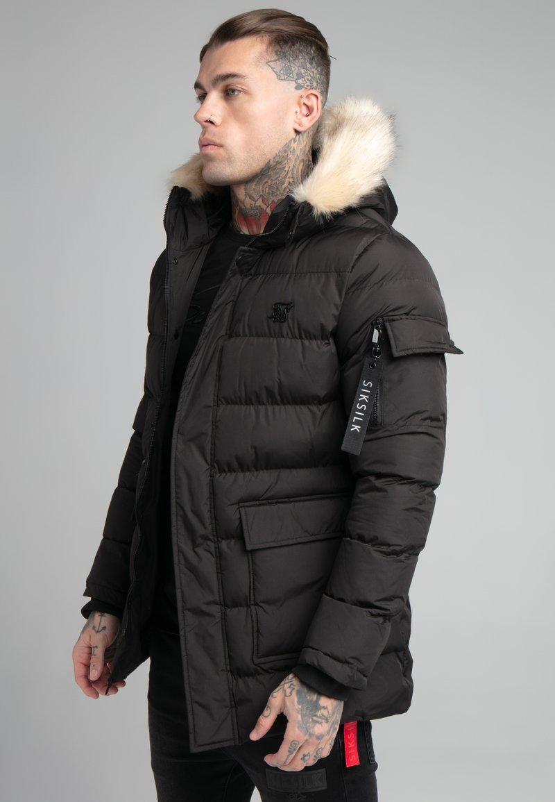 SIKSILK - EXPEDITION - Winter coat - black