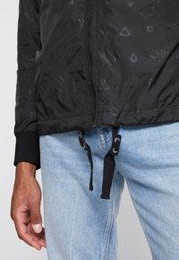 Diamond Supply Co. - MONOGRAM JACKET - Summer jacket - black - 5