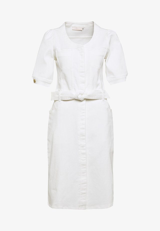 ARABELLEKB DRESS - Robe en jean - white swan