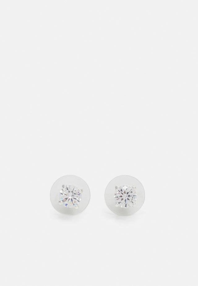 BASIC - Boucles d'oreilles - silver-coloured